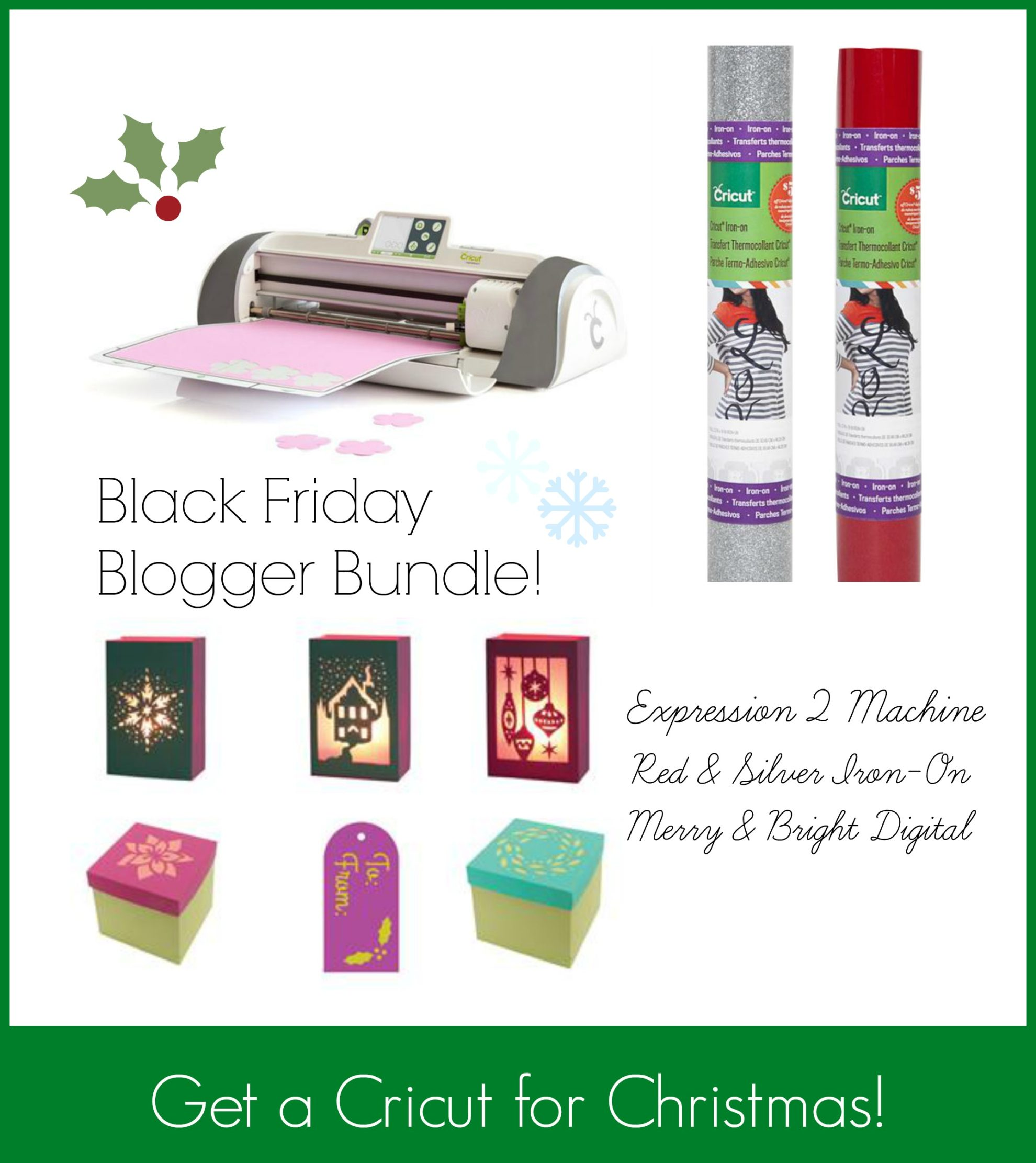 Cricut Black Friday Blogger Bundle from SewWOodsy.com