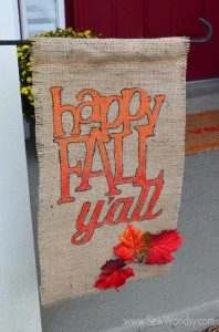 {Video} Fall Garden Flag