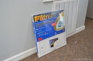 {Air Filter Maintenance} Fall Allergies + Filtrete Healthy Home Giveaway