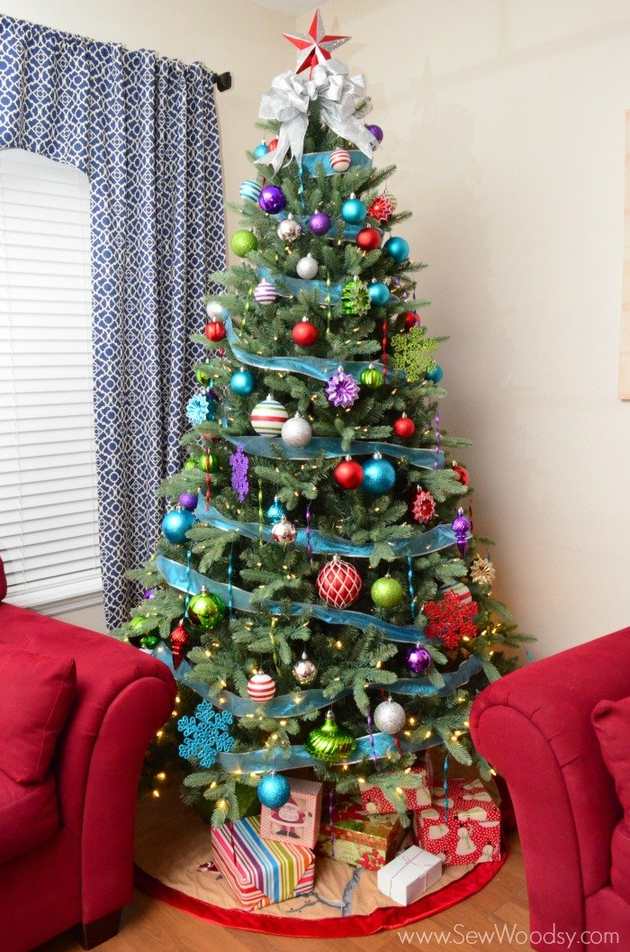 Jingle Brights Inspired Christmas Tree - Sew Woodsy