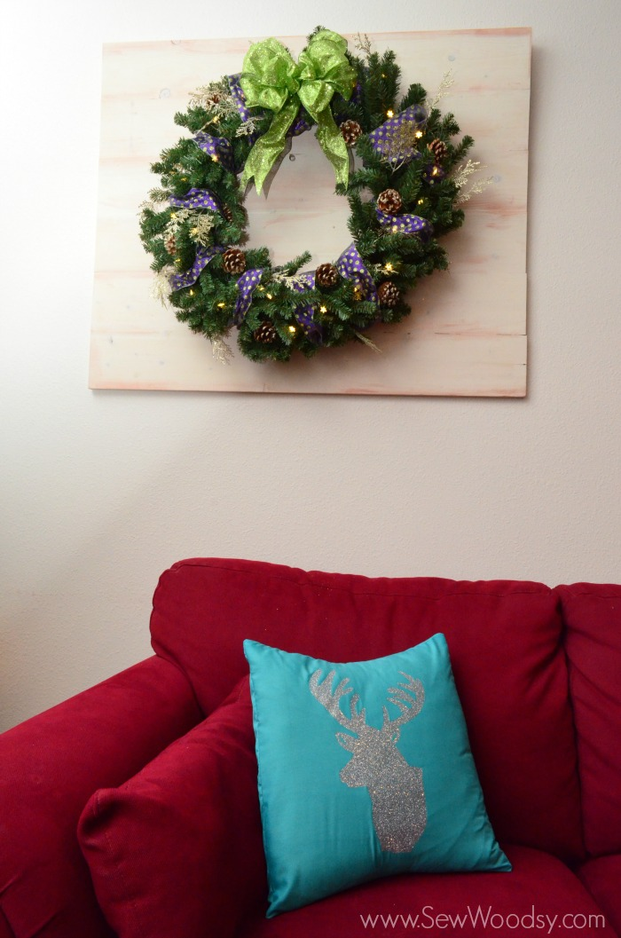Wood Pallet Wreath Art Sew Woodsy
