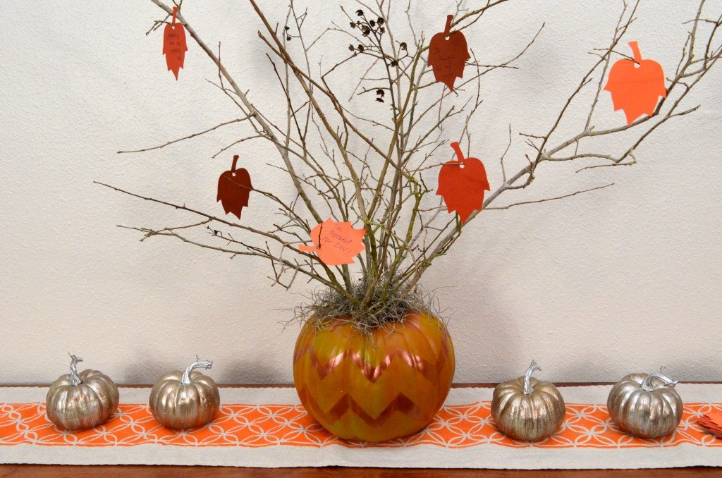 Thankful Pumpkin Tree from SewWoodsy.com