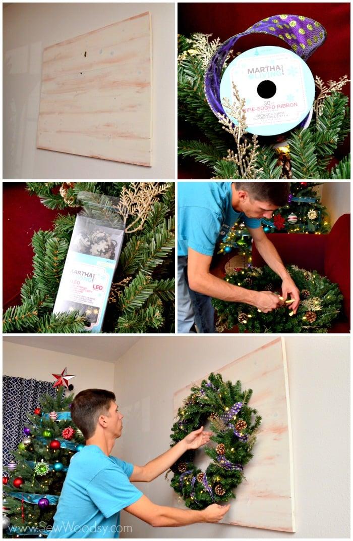 Wood Pallet Wreath Art Sew Woodsy