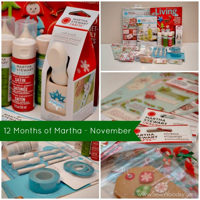 12 Months of Martha - November