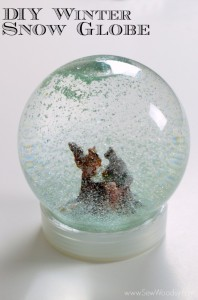 {Video} DIY Winter Snow Globe