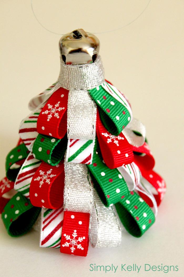 Ribbon Tree Ornament - Sew Woodsy