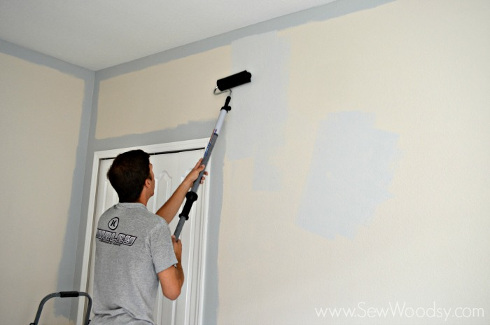 Painting the Nursery 2