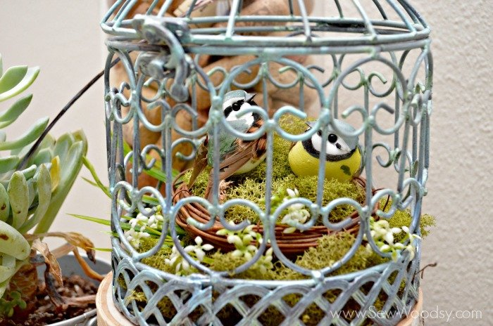 Spring Bird Cage #MPinterestParty