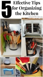 Effective Tips for Organizing the Kitchen