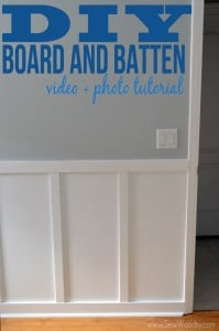 {Video} DIY Board and Batten