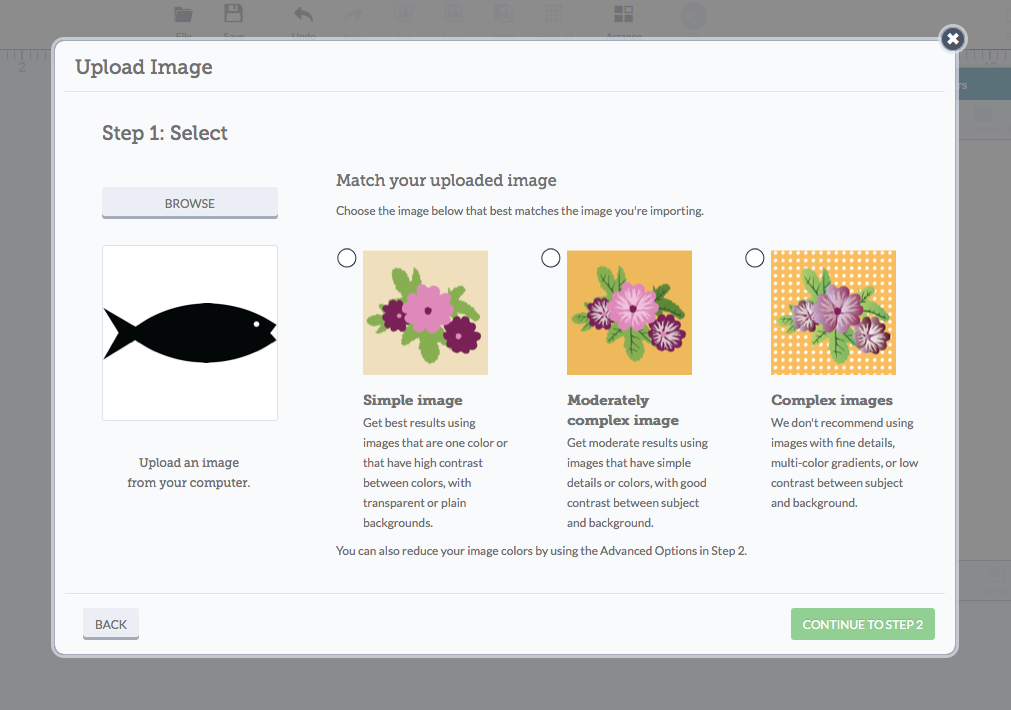 How To Upload an Image in Cricut Design Space
