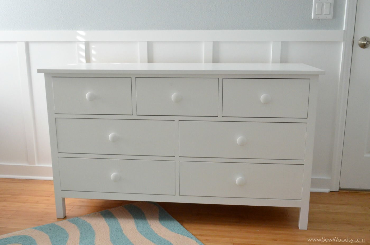How To Build An Extra Wide Simple Dresser Sew Woodsy