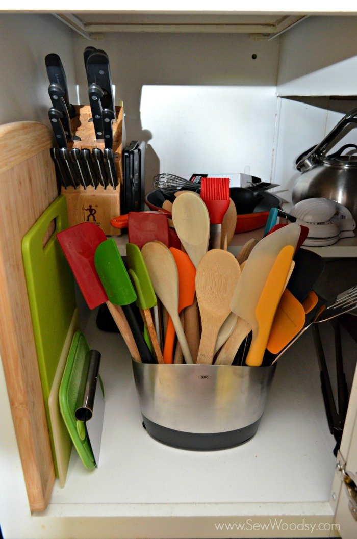 Organizing the Kitchen Cabinets with OXO