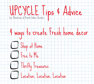Fresh Upcycle Tips and Advice from Fresh Idea Studio