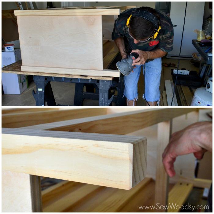 kendall dresser construction 7