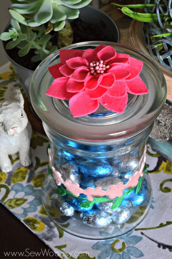 Easy Spring Floral Candy