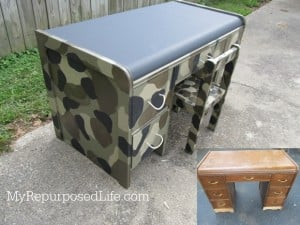 Up-Cycle Furniture Round-Up From My Repurposed Life