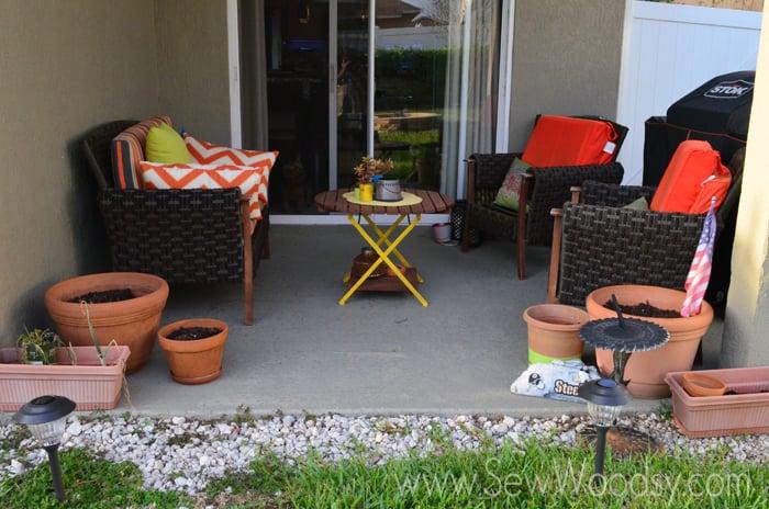 Good M ScotchBlue Painters Tape Outdoor Painted Patio