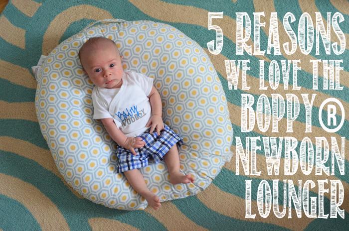 5 Reasons We love the Boppy® Newborn Lounger