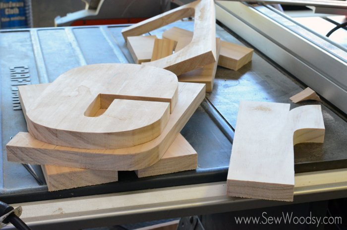 how to cut letters on the scroll saw