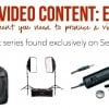 Creating Video Content Equipment