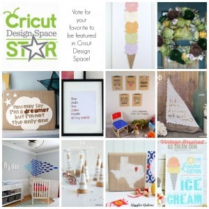 Vote for Us — The Next Cricut Design Space Star!
