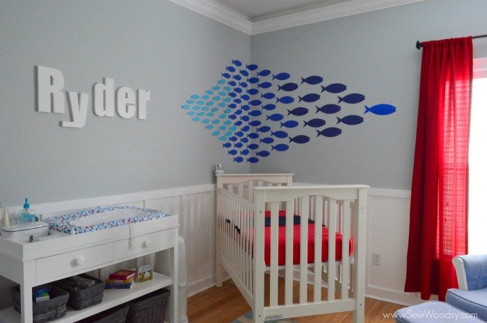 Paper Fish Nursery Decor 1