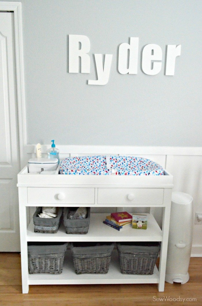 PBK Ultimate Changing Table Knockoff