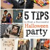 5 Tips to Host a Successful Halloween Party