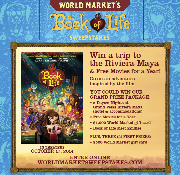 Book of Life Sweepstakes