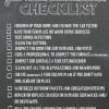 Fall Home Maintenance Checklist Printable