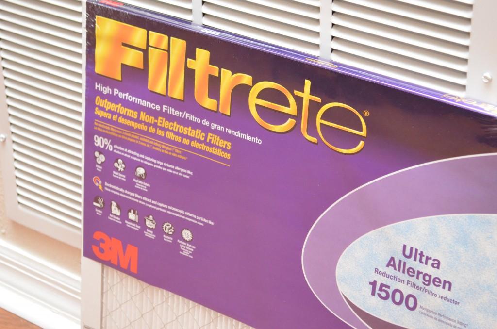 Filtrete Healthy Living Ultra Allergen Reduction Filter (MPR 1500) #HealthierHome