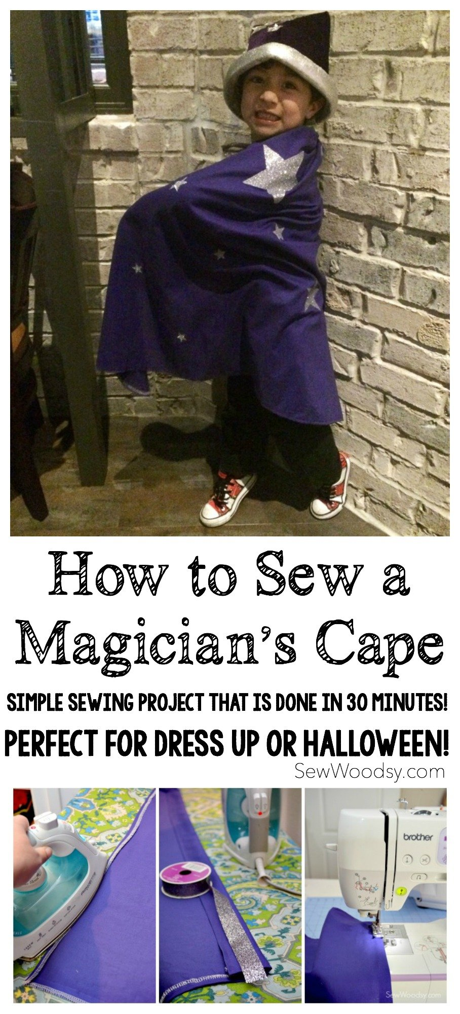 How to Sew a Magician's Cape