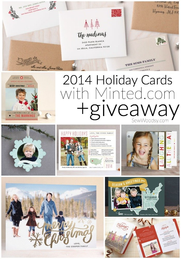2014 Holiday Cards with Minted.com + Giveaway