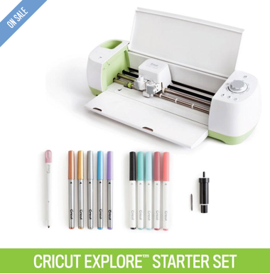 Cricut Explore® Machine + Deluxe Starter Set