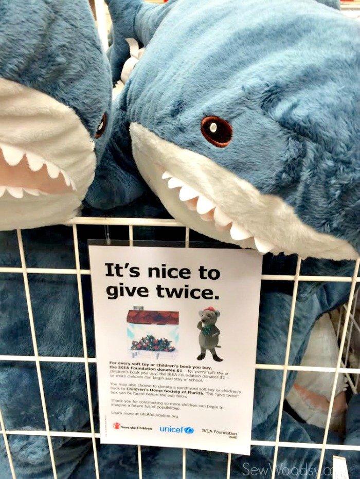 Shark Soft Toy from IKEA