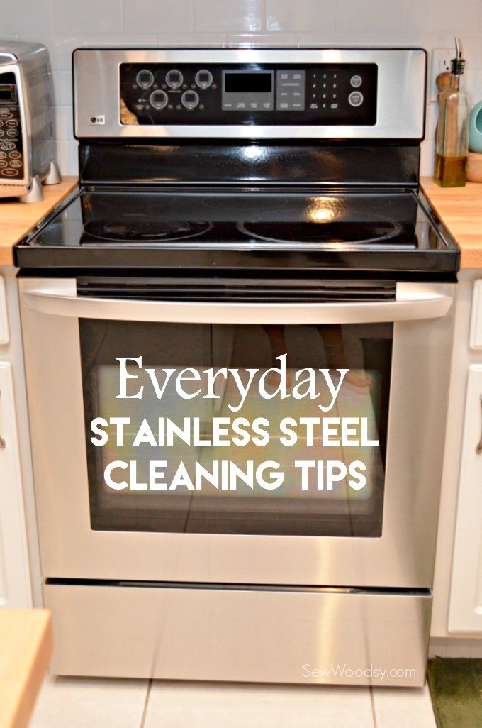 Everyday Stainless Steel Cleaning Tips #MeisterCleaners