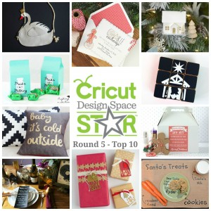 VOTE Now! Cricut Design Space Star Top 10 – Round 5!