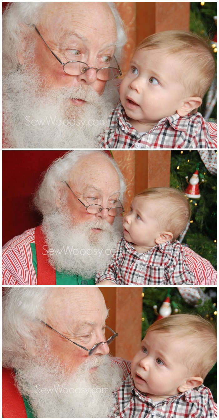 Santa Photos with Baby