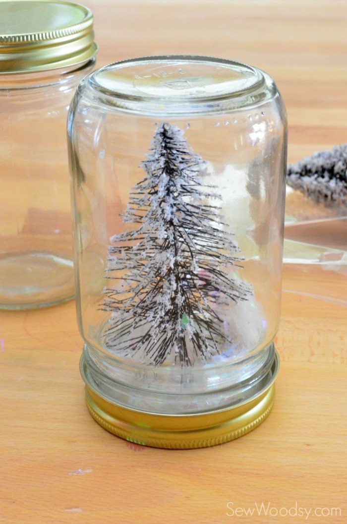 christmas tree mason jar 4