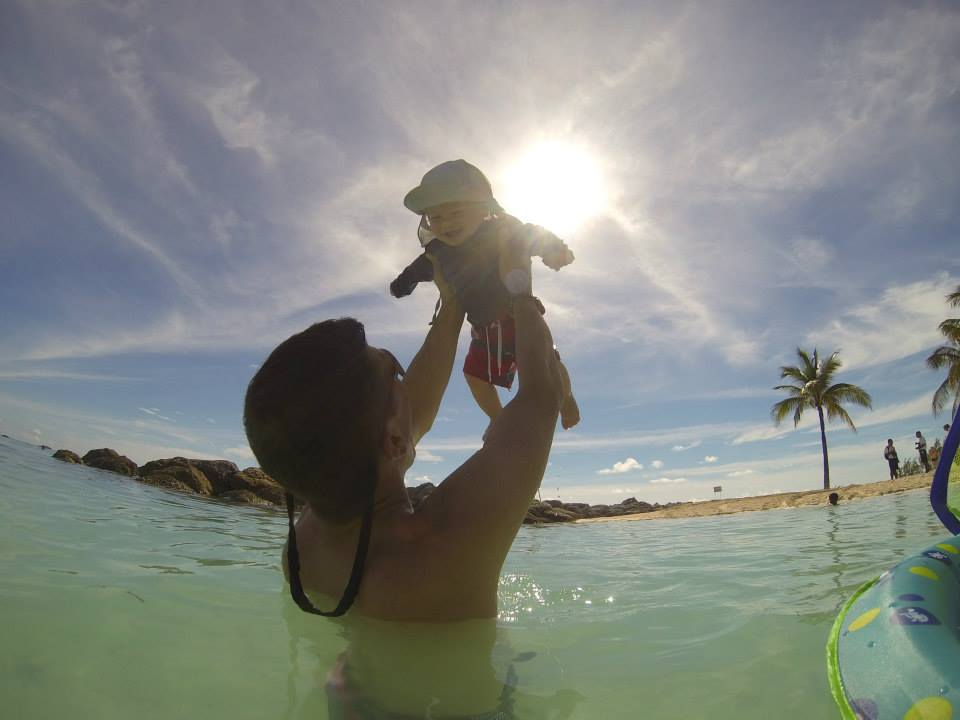 Cruising with an Infant coco cay