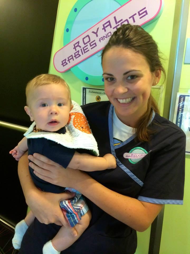 royal babies nursery staff