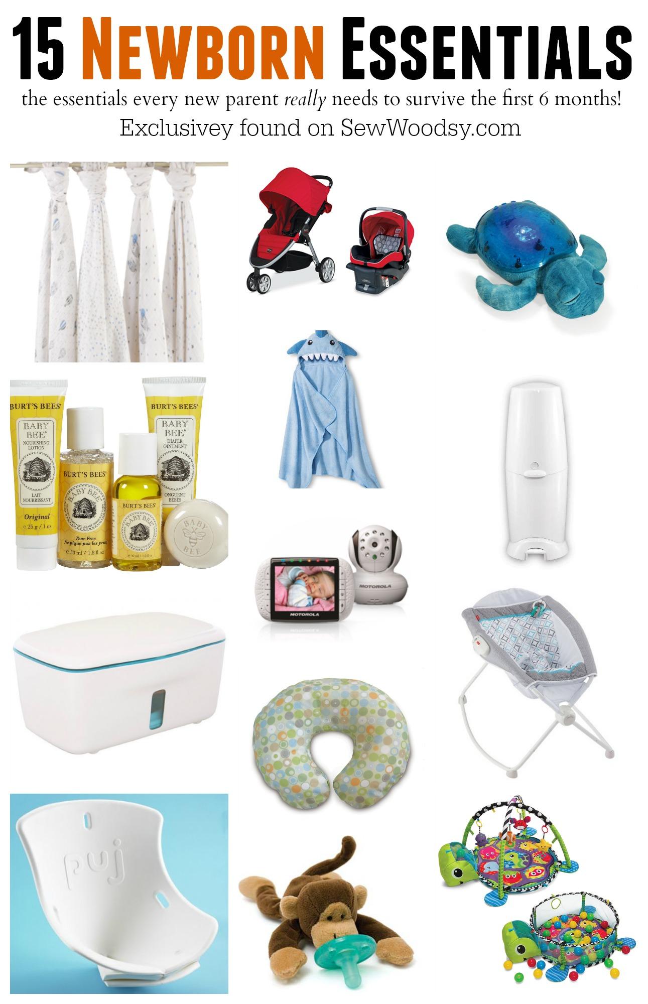 15 Newborn Essentials Sew Woodsy