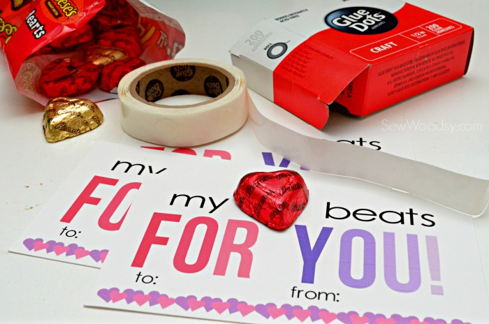 My Heart Beats For You Valentine Card 5
