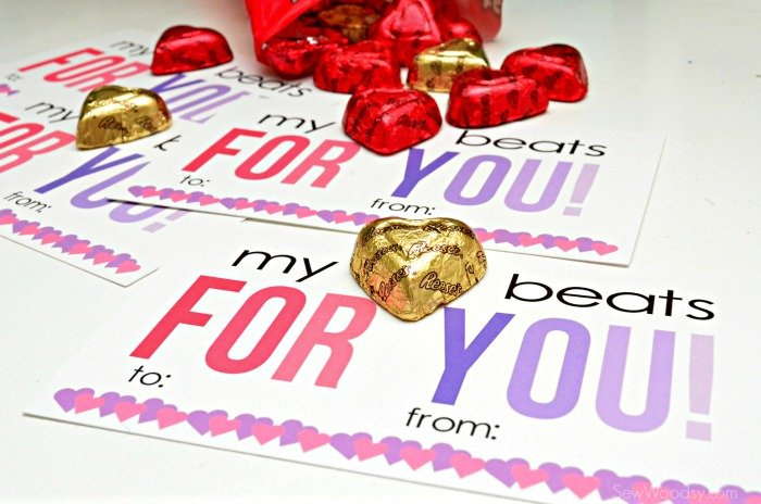 My Heart Beats For You Valentine Card 7