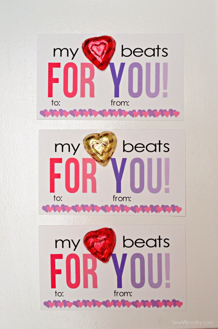 My Heart Beats For You Valentine Card 8