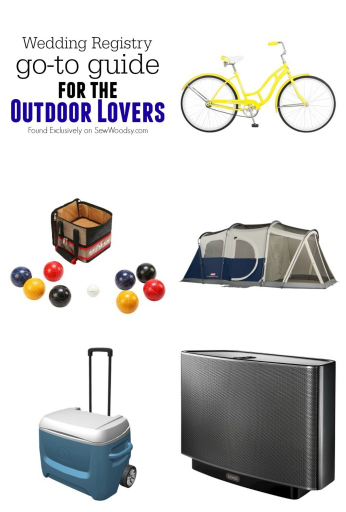 Wedding registry go-to guide for the outdoor lovers