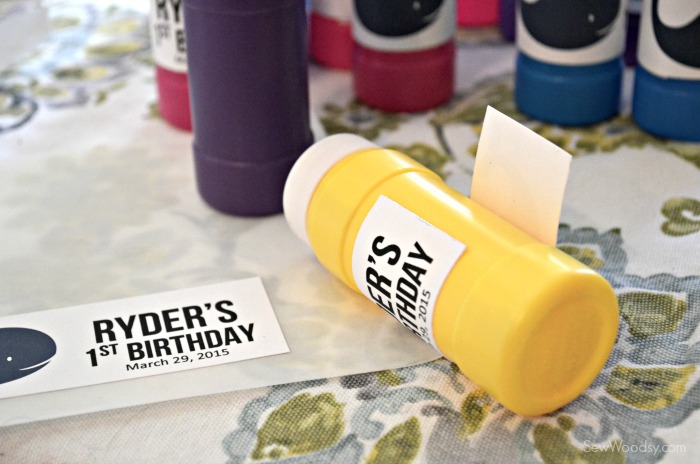 DIY Birthday Bubble Favors 1