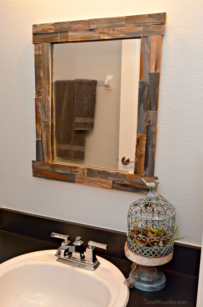 Amazing DIY Rustic Decorative Mirror