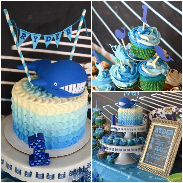 Pedal Whale Cake